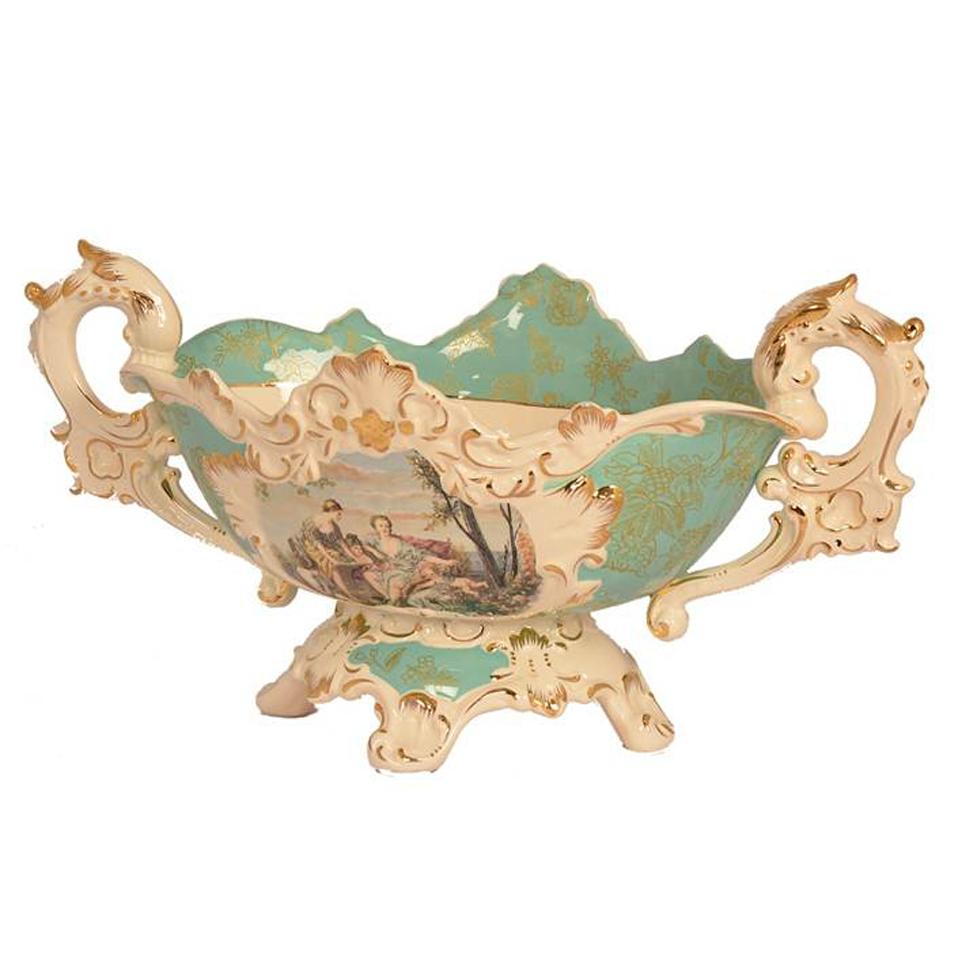 精品陶瓷-藍深粿碗