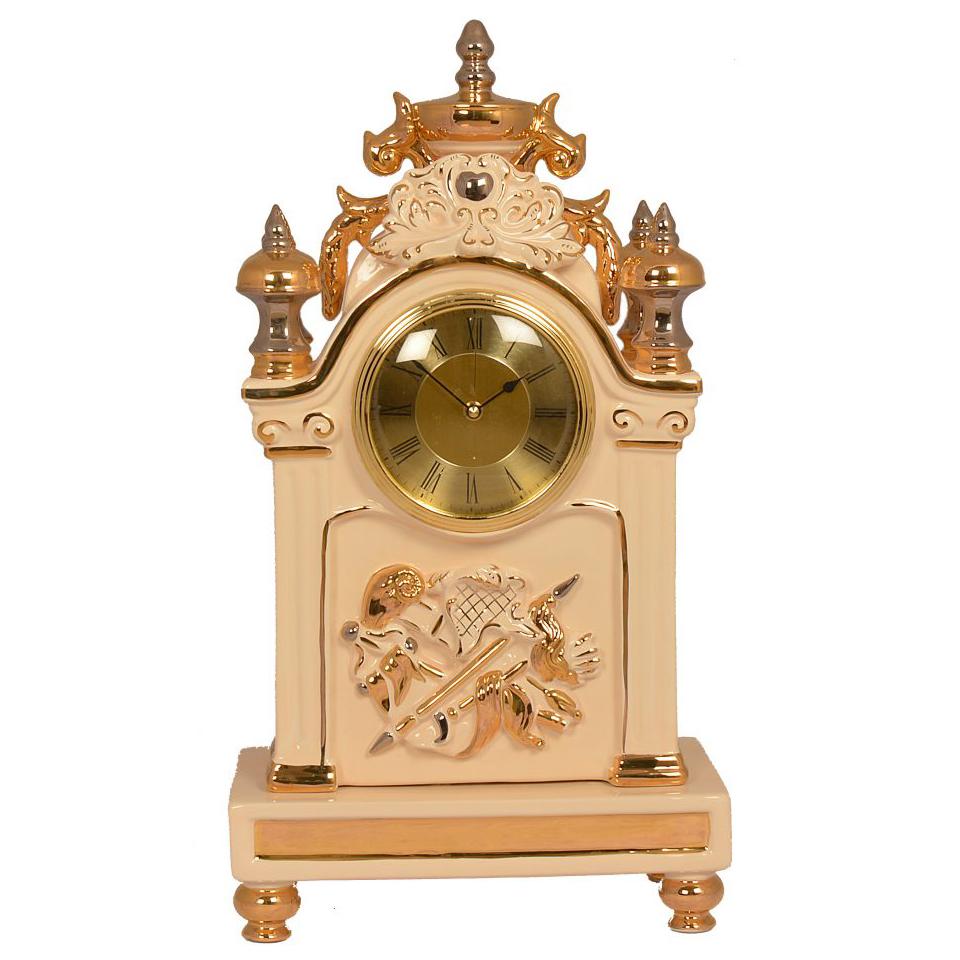 精品陶瓷-透視座鐘D