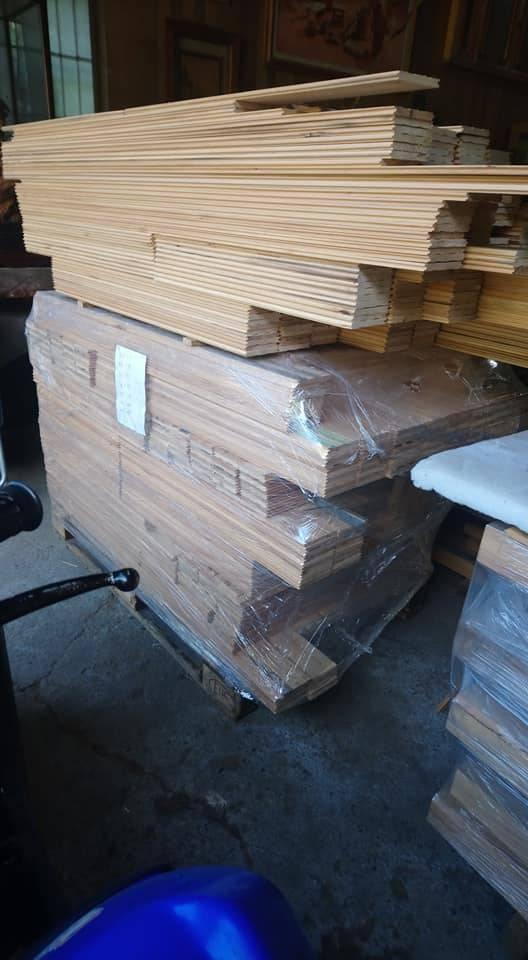 檜木壁板料、牆壁板料