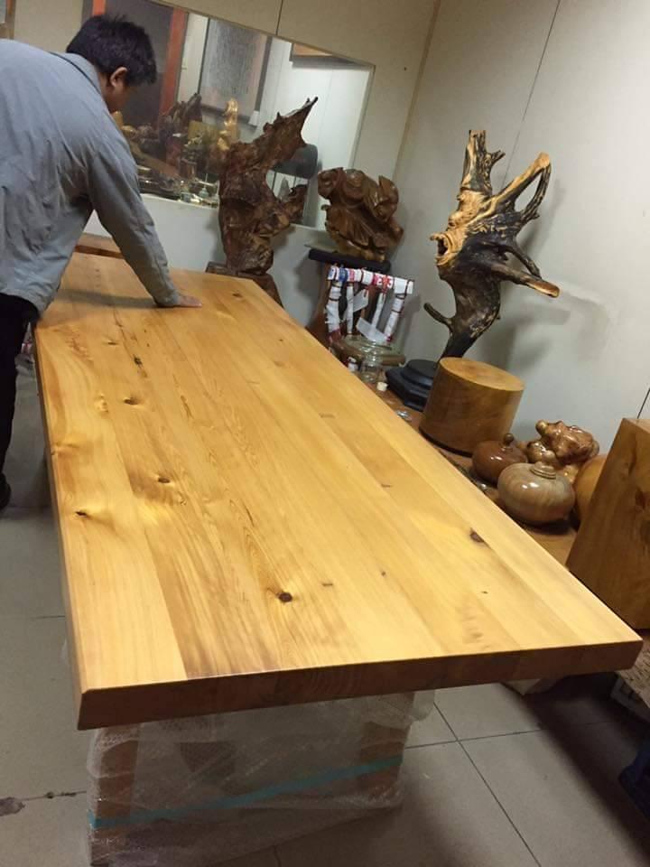 台灣檜木併桌