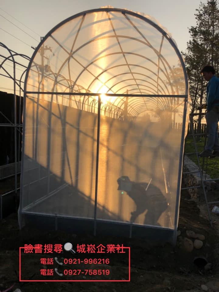 草屯小型溫網室-百香果步道