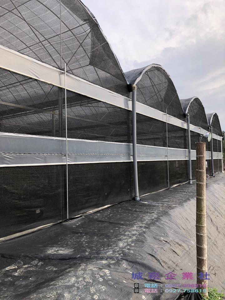 圓頂簡固型溫室