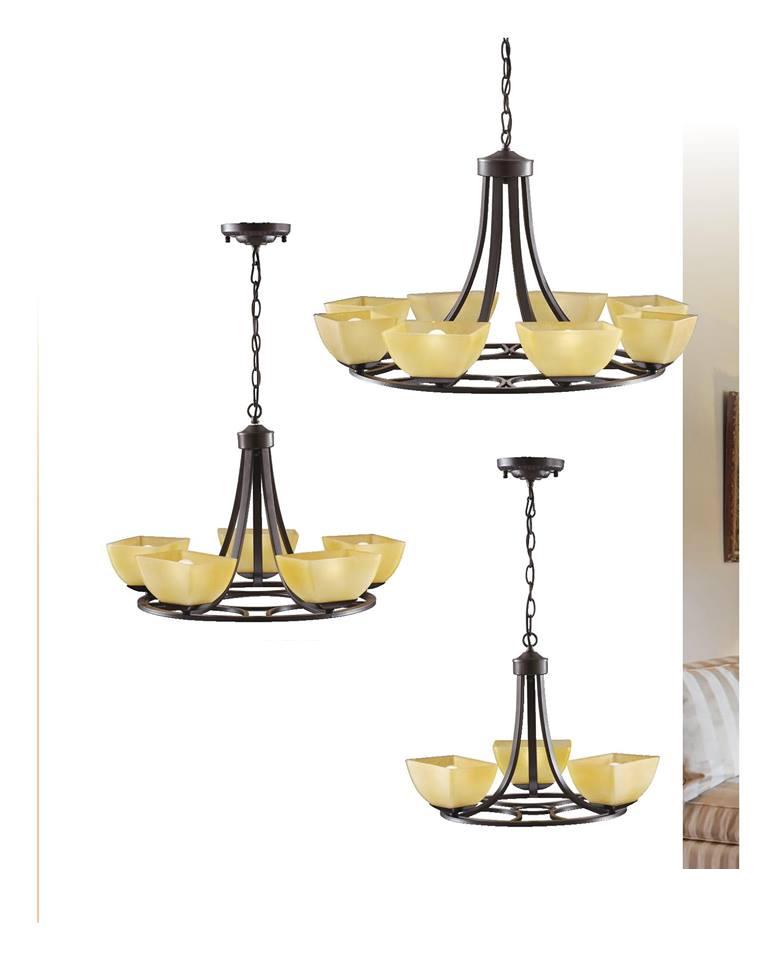 吊燈-麗晶燈管