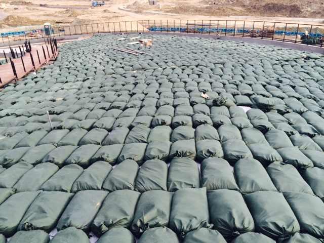 中創專區新建工程-植生袋工程