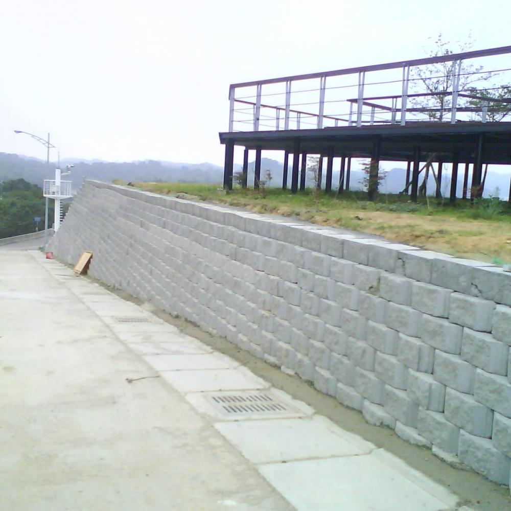 景觀式擋土牆B