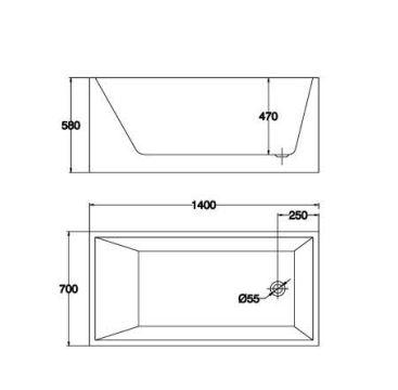精品浴缸KQ-M710