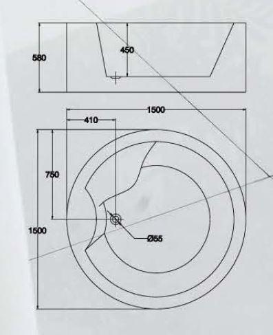 精品浴缸KQ-M210