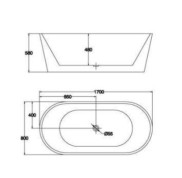 精品浴缸KQ-M109