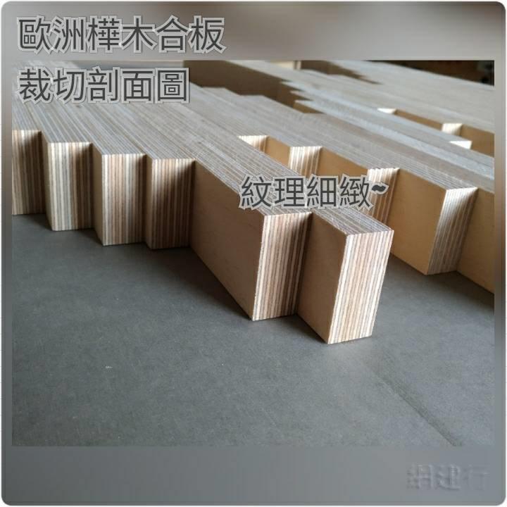 樺木合板 18mm® PlayWood 玩木板 1220×2440x18mm