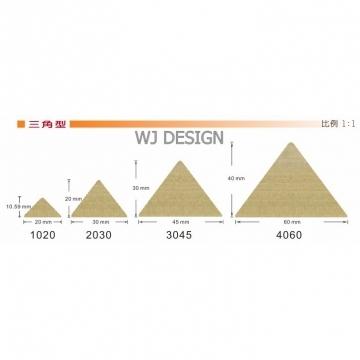 三角形木條