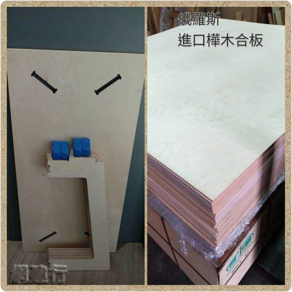 歐洲 樺木合板 夾板 B/BB等級 1220mm×2440m