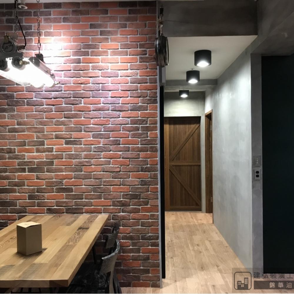 仿水泥牆漆 / 清水模漆工程