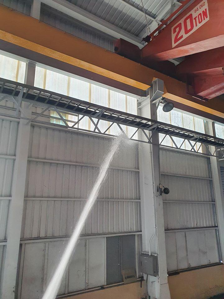 灑水車-清洗廠房
