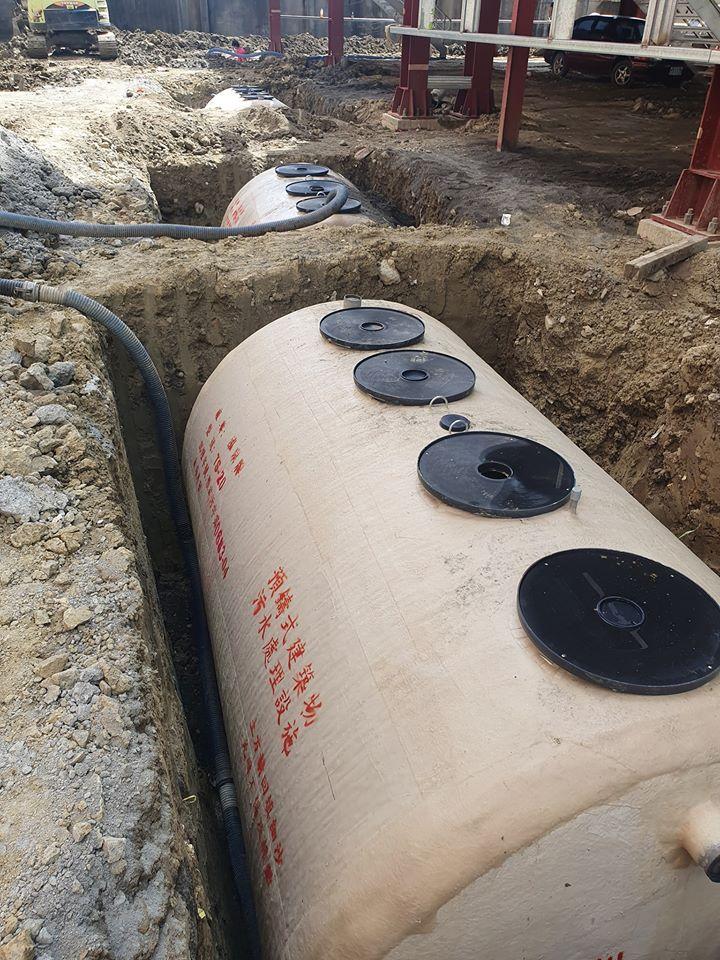 灑水車-商辦建地 化糞池補水 回填