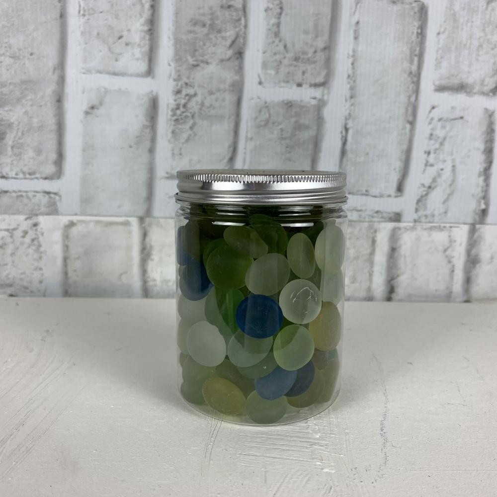 玻璃扁珠(瓶裝)