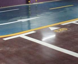 彩色固化地坪