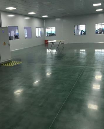 精密機械廠-綠色固化地坪