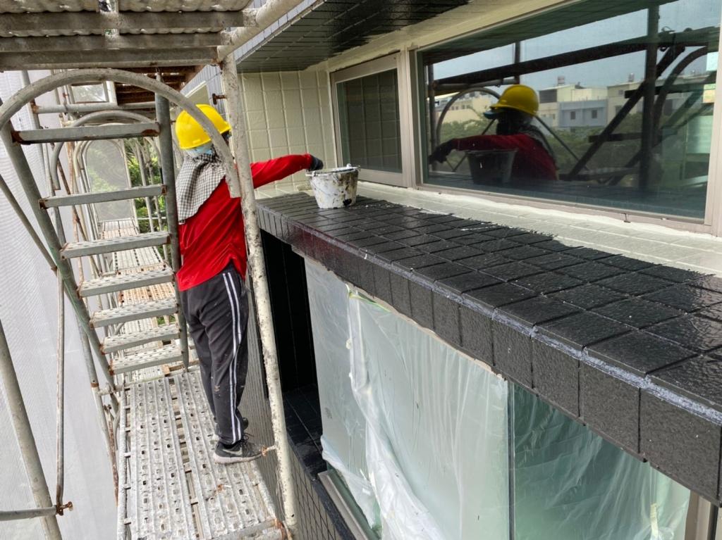 Pu防水外牆不垂流工程
