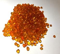 橘玻璃石(3~6mm