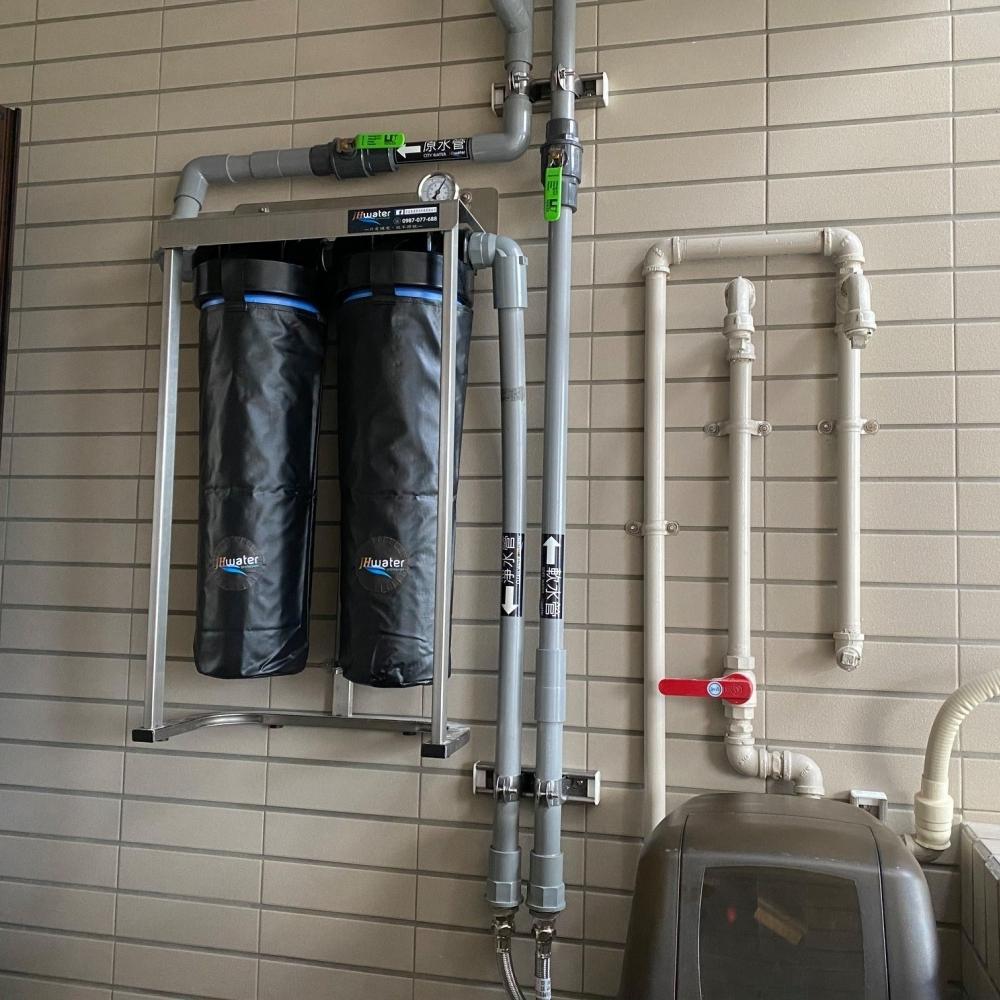 全戶基礎過濾軟水系統