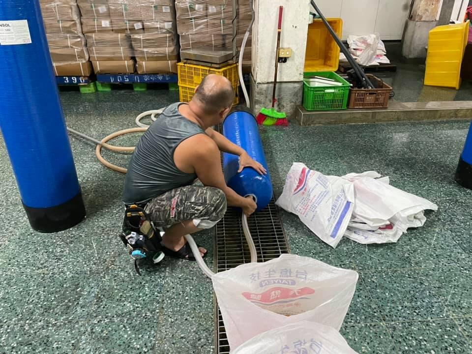一年一度蝦仁工廠定期保養