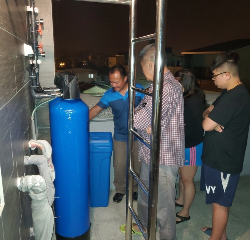 全戶過濾軟水系統安裝分享