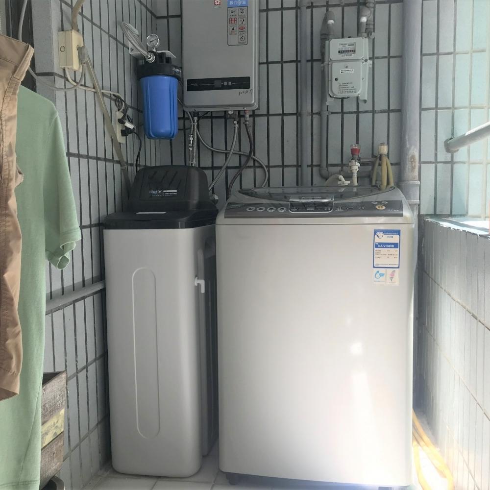 全戶過濾軟水系統安裝分享(熱水專用) :高雄-尖美DC