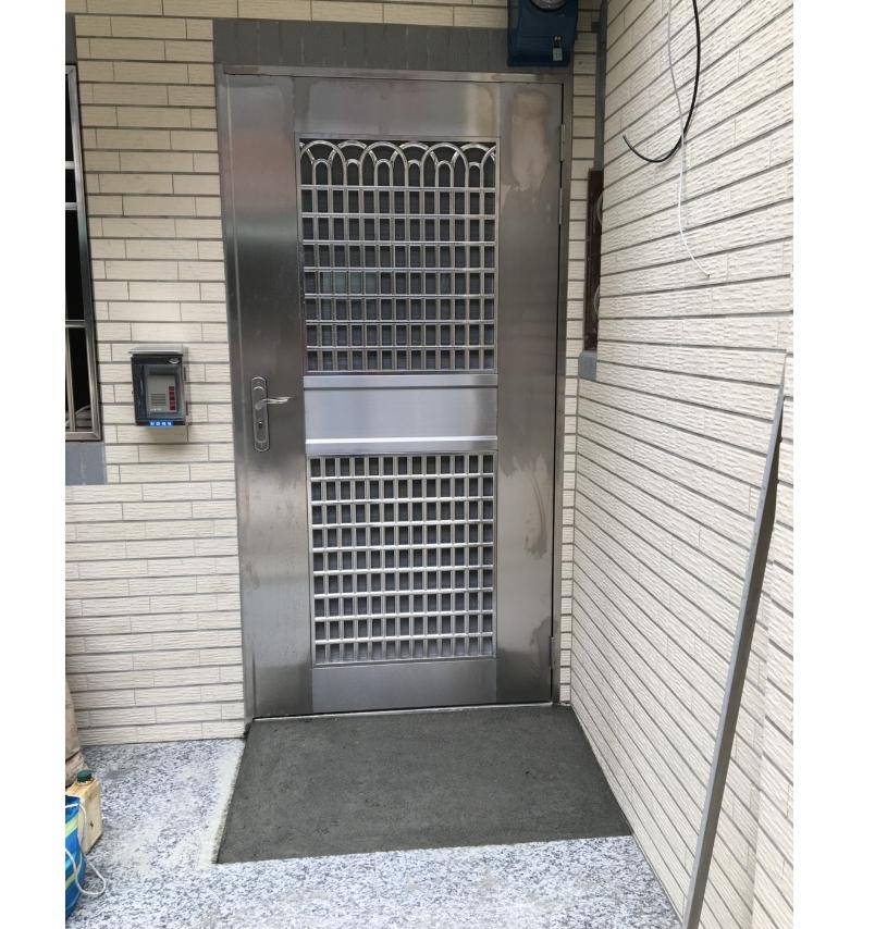 傳統式白鐵門-1-2