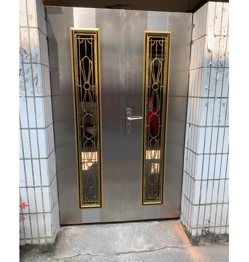 鍛造白鐵門安裝-1