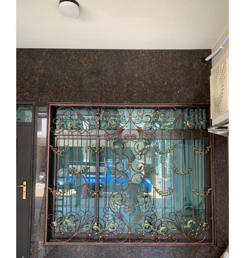 鍛造窗安裝-4