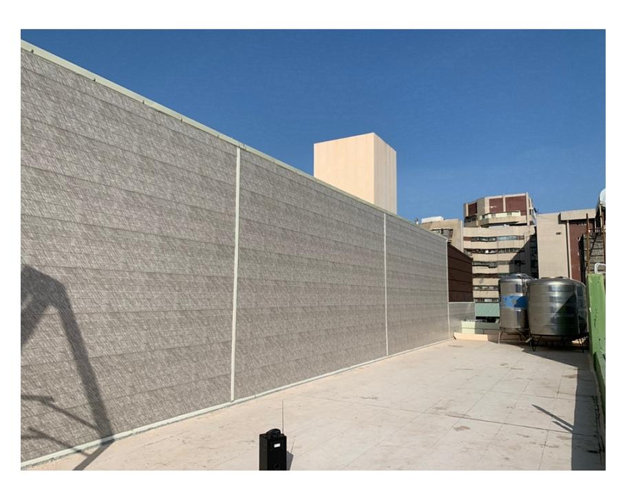 牆壁鐵衣防漏工程