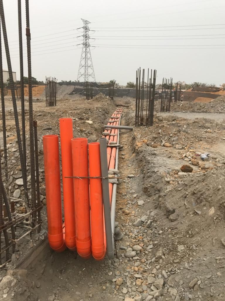 屏東水電工程-新建廠房