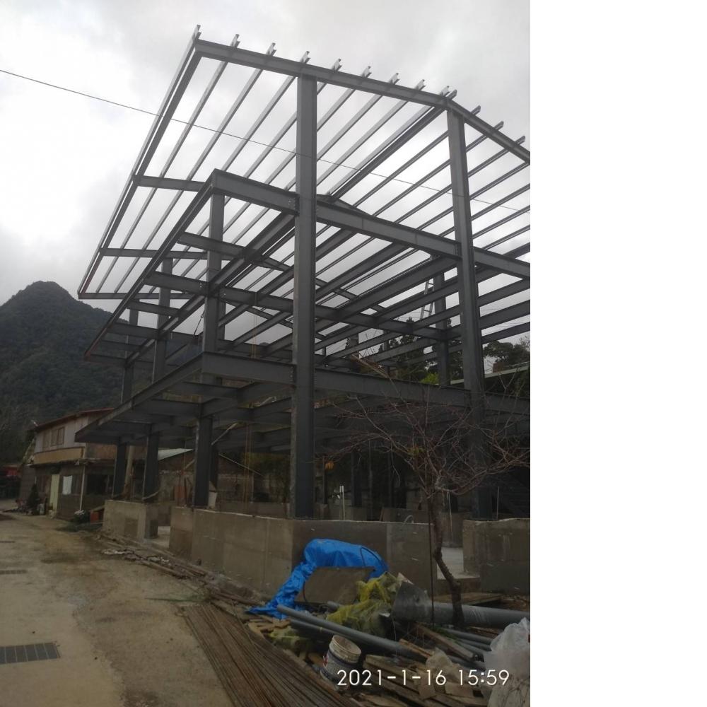 鋼構工程台北
