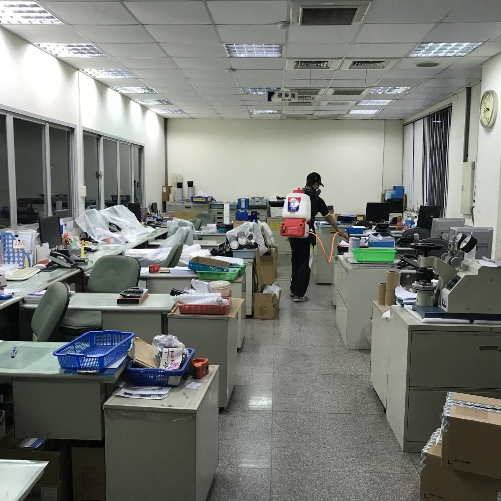 企業辦公室防治施工