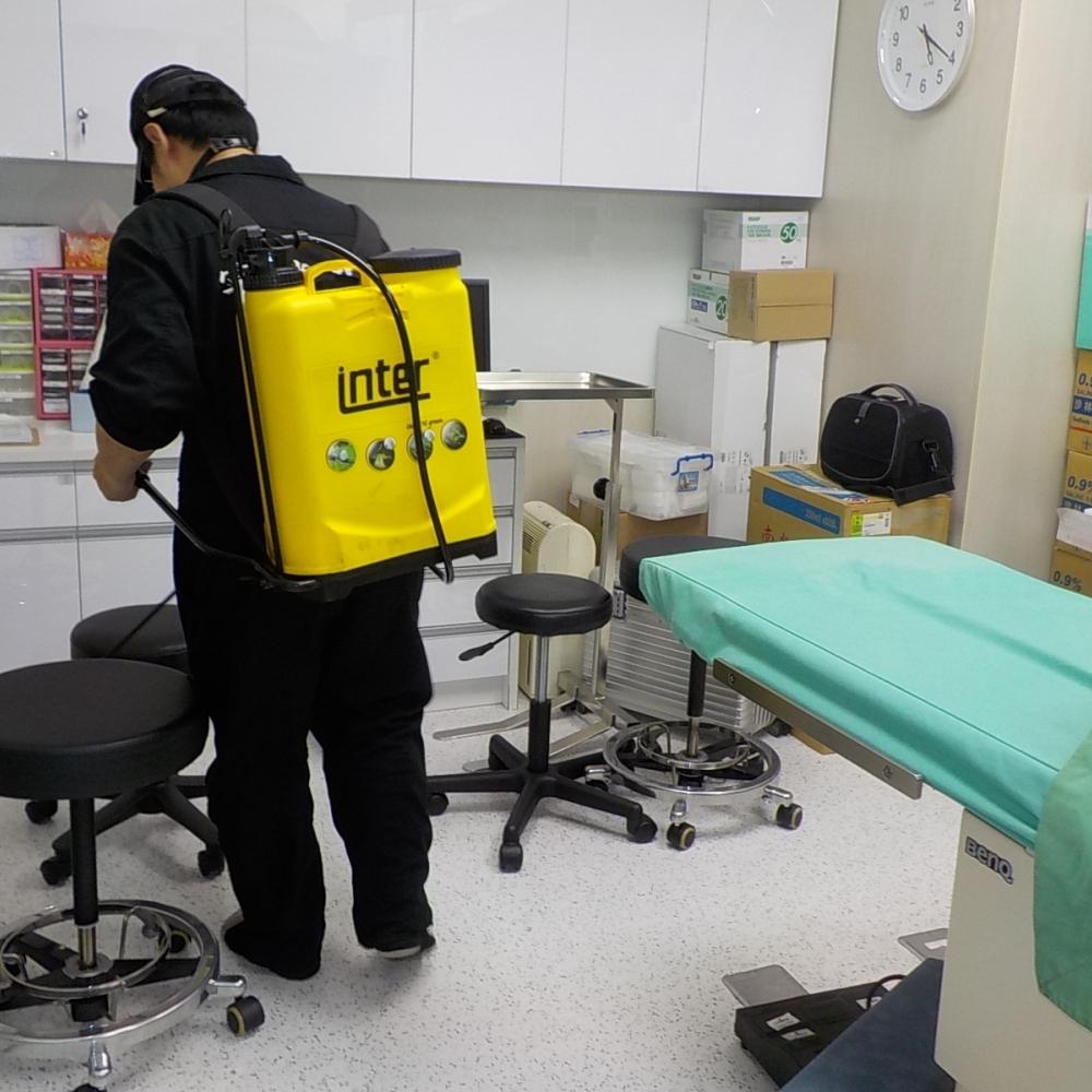 醫院醫療院所防治施工