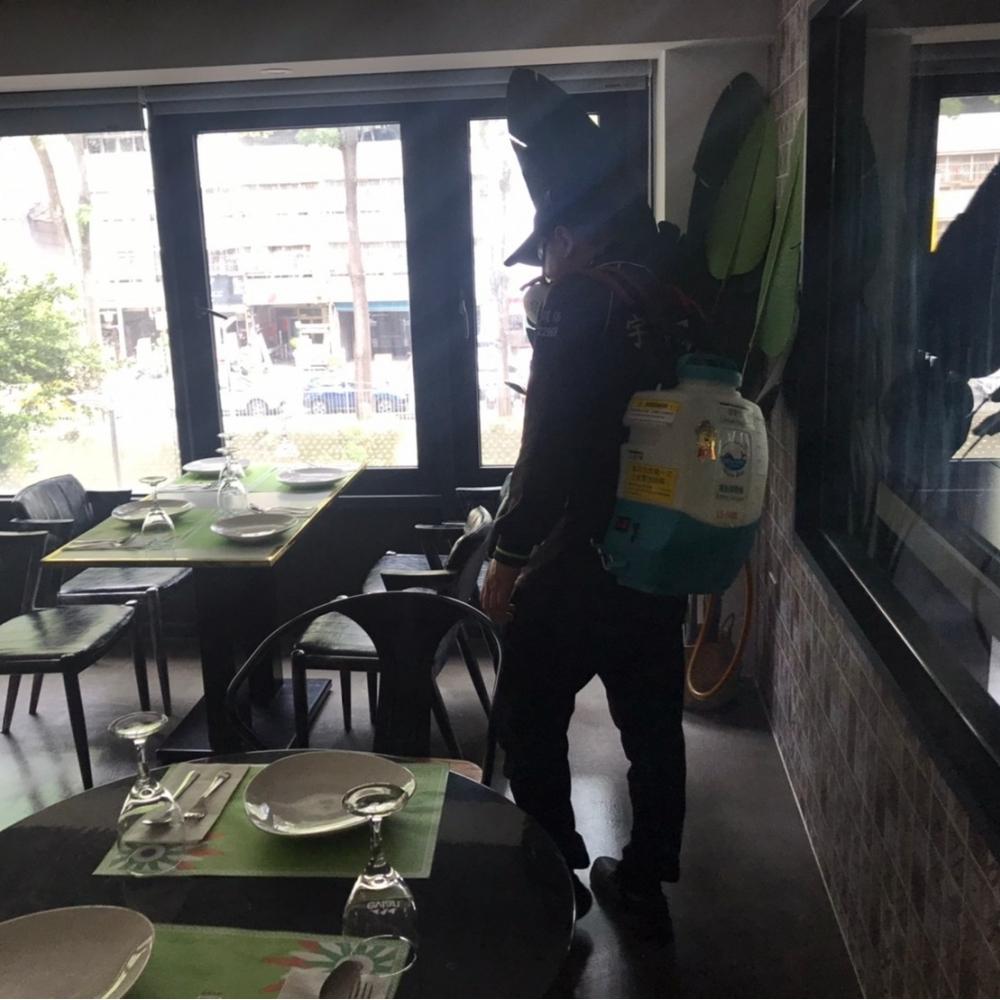 餐廳消毒防治施工