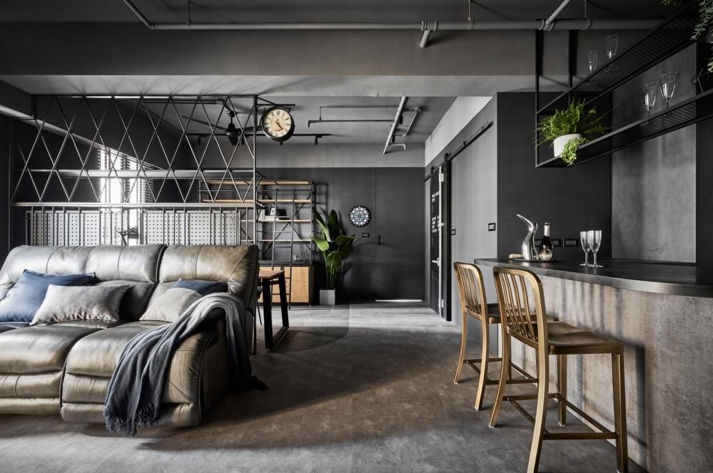 灰鍍 × Loft  Residence•2021