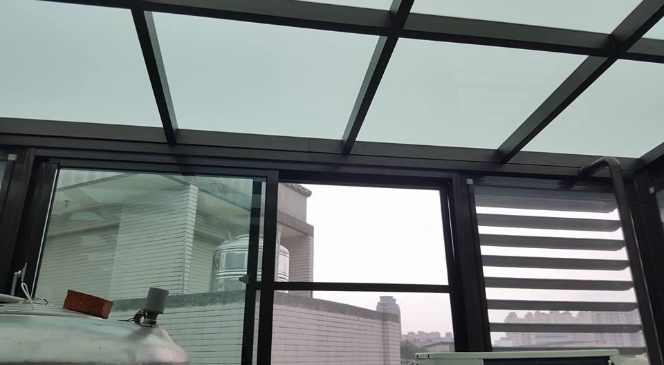 台中玻璃採光罩