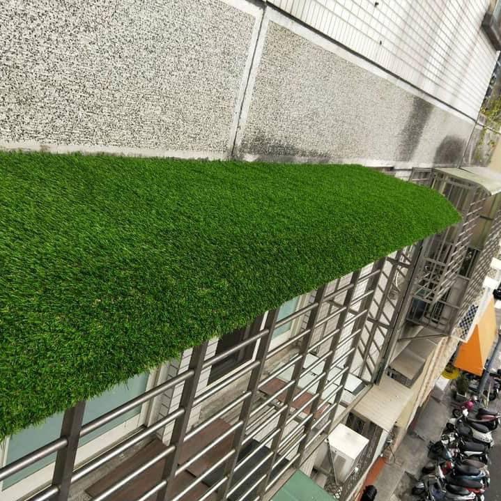 外牆人工草皮安裝
