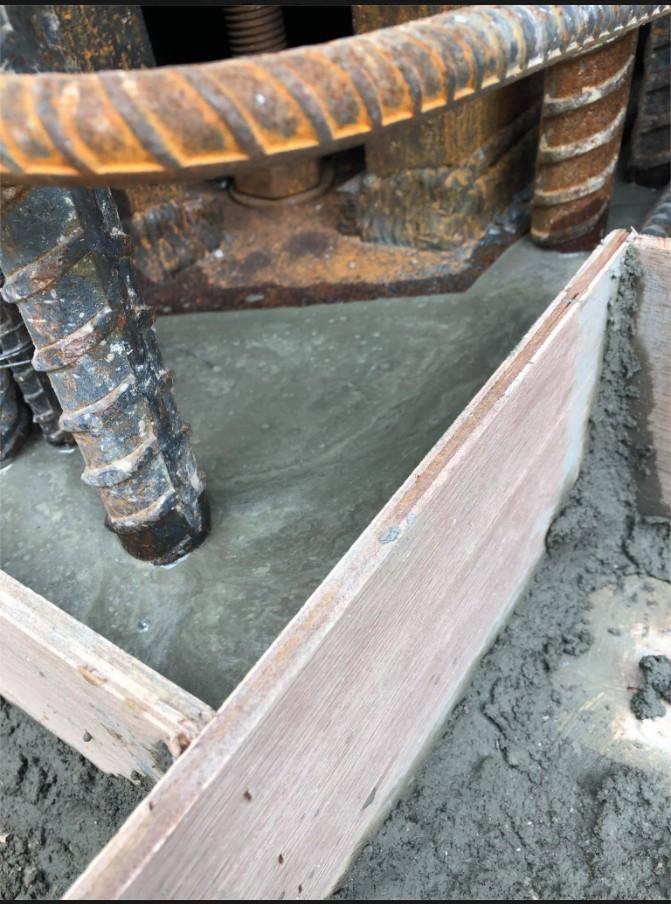 無收縮水泥灌注工程