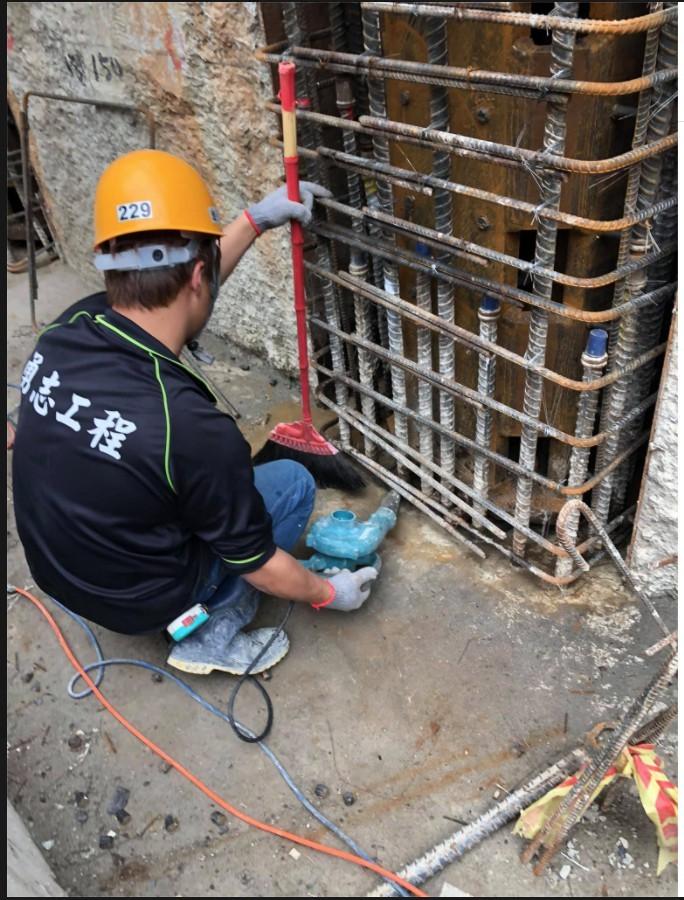 無收縮水泥二次灌漿工程