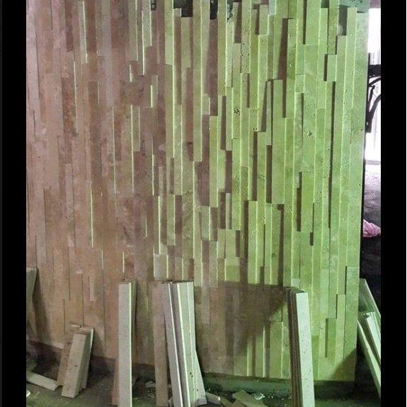 台中文化石牆裝潢