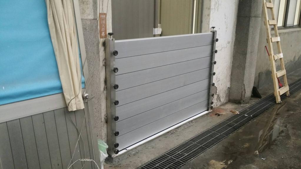 鋁合金插板式防水閘門