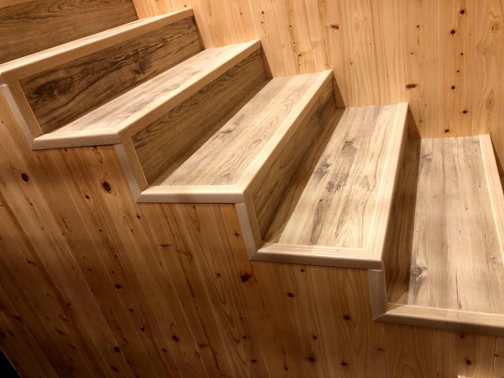 實木樓梯踏板、卡扣樓梯板