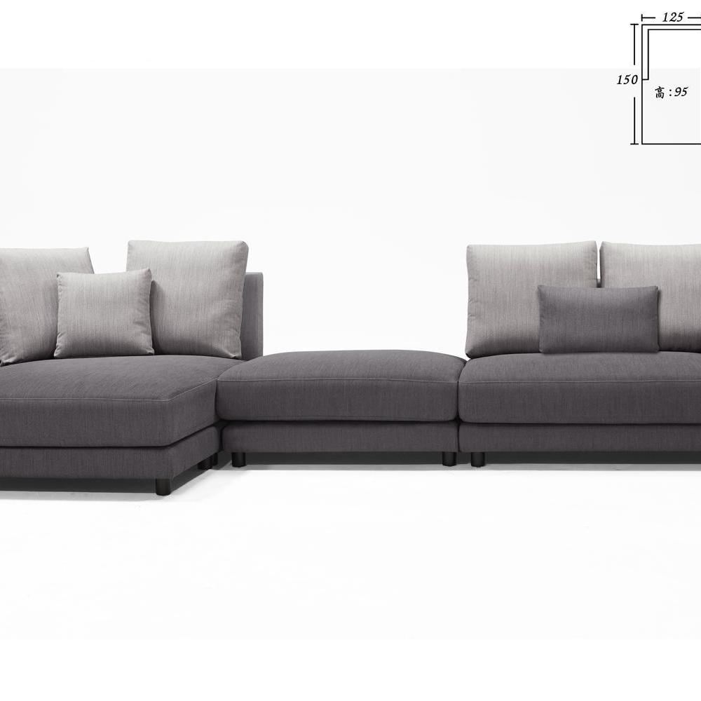 美納絲L型沙發