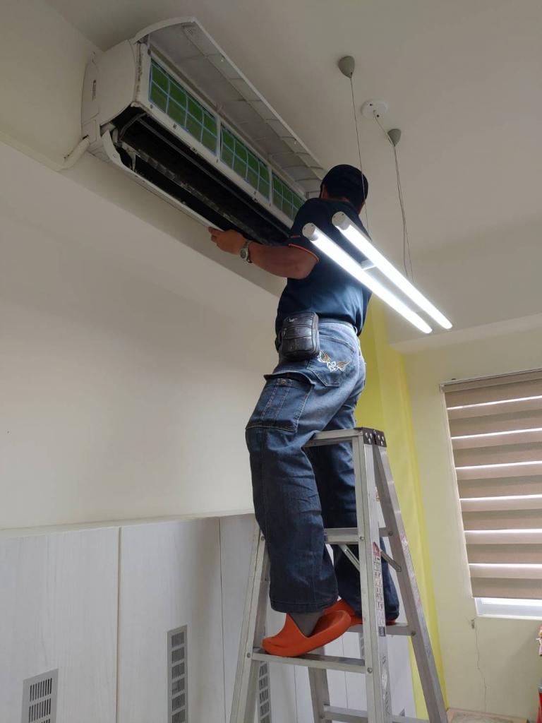 壁掛式冷氣保養