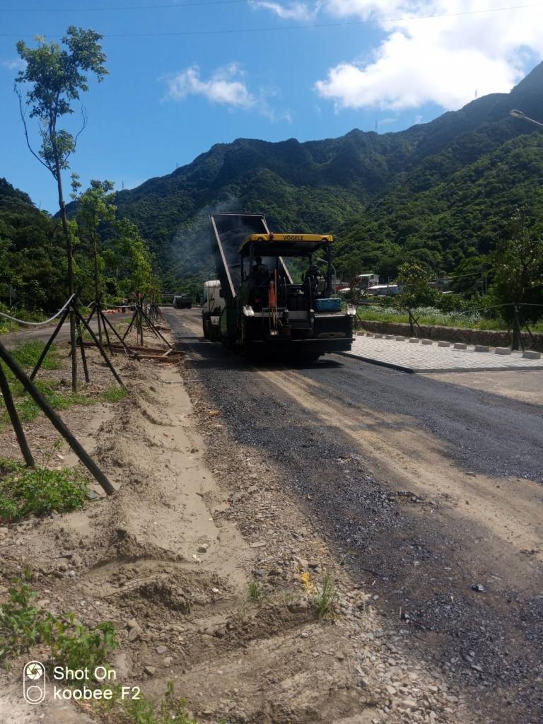 台北柏油路面施工