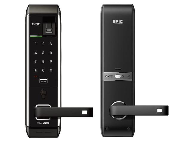 電子鎖 EF-8000L四合一 指紋密碼鎖/卡片密碼電子鎖