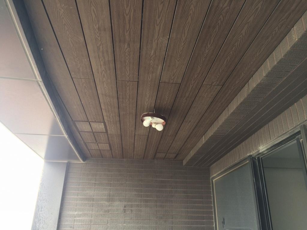 塑木天花板