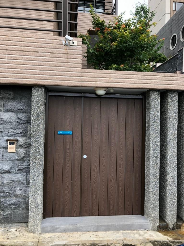 塑木裝飾門